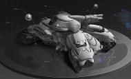 游戏、电影原画中那些极其复杂的科幻建筑、机械是如何设计出来的?