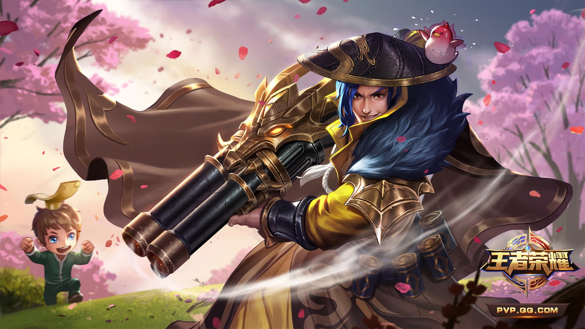 第1弹《王者荣耀英雄皮肤CG》竞技游戏227