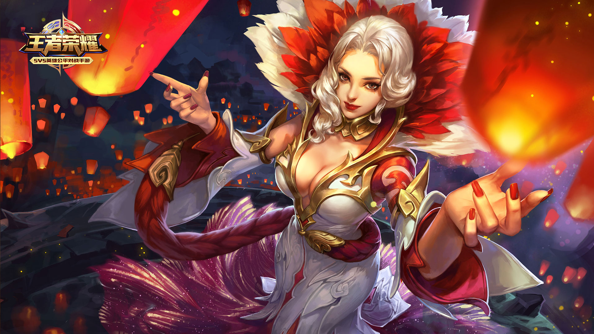 第1弹《王者荣耀英雄皮肤CG》竞技游戏112