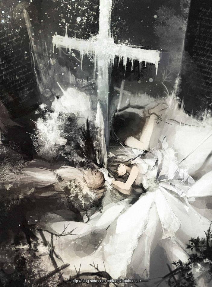 日本画师 rokoda插画作品欣赏